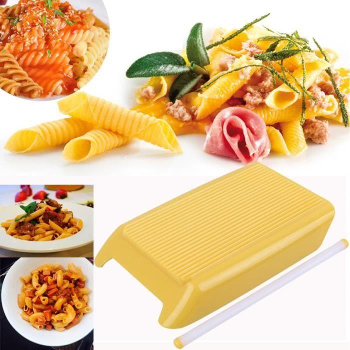 SET ACCESSOIRE CUISINE Pâte Macaroni Conseil Spaghetti Gnocchi Maker Roul