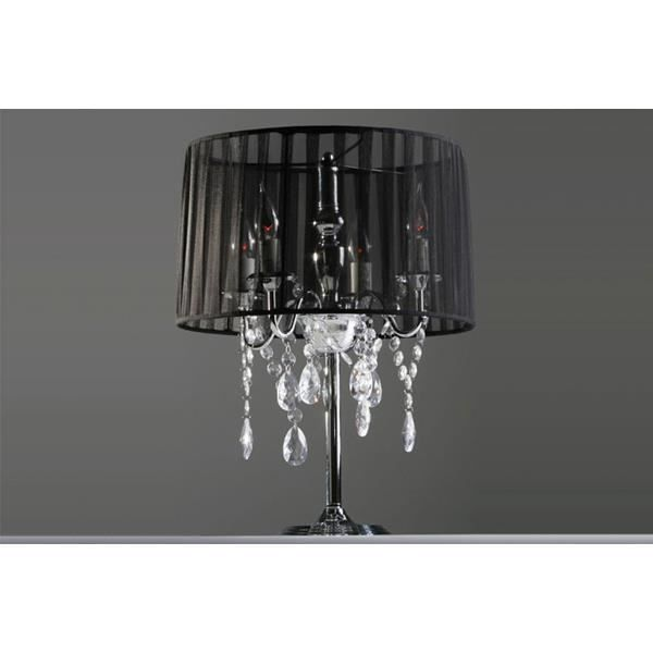 Lampe de chevet baroque pampilles lampe de table - Lampe de chevet baroque ...