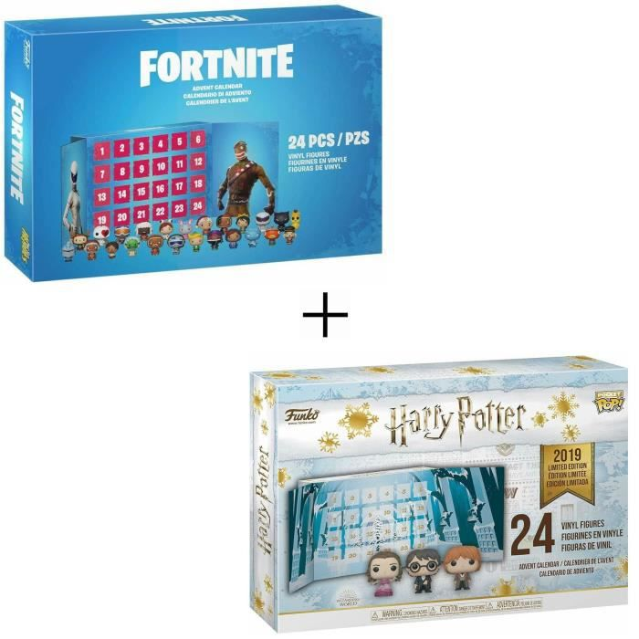 Calendrier De Lavent Harry Potter Funko Pop.Pack 2 Calendriers De L Avent Funko Pocket Pop Harry