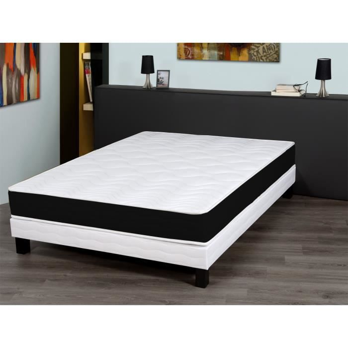 finlandek matelas hellys 160x200 cm mousse ferme 35 kg m3 2 personnes achat vente. Black Bedroom Furniture Sets. Home Design Ideas