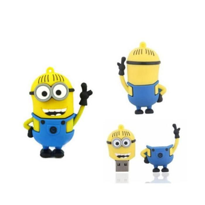 cl usb 2 0 64 go minion prix pas cher cdiscount. Black Bedroom Furniture Sets. Home Design Ideas