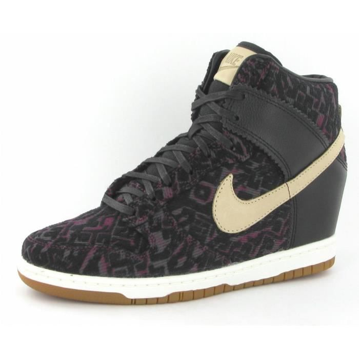 competitive price to buy super popular Chaussures Nike Dunk Sky High Pr... Noir Noir - Achat / Vente ...