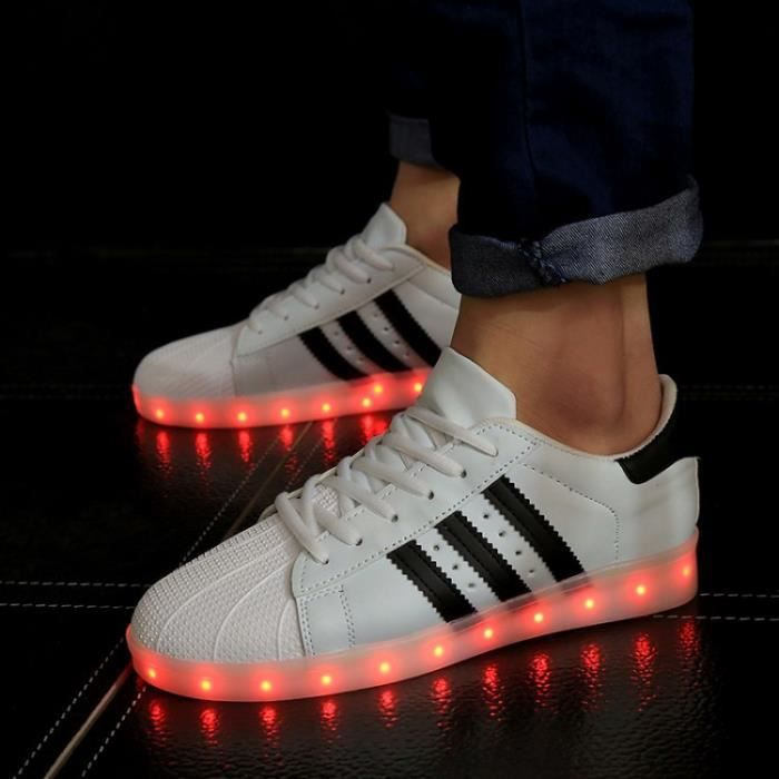 Chaussures de chaussures lumineuses chaussures chaussures chaussures homme et femme BN4fL
