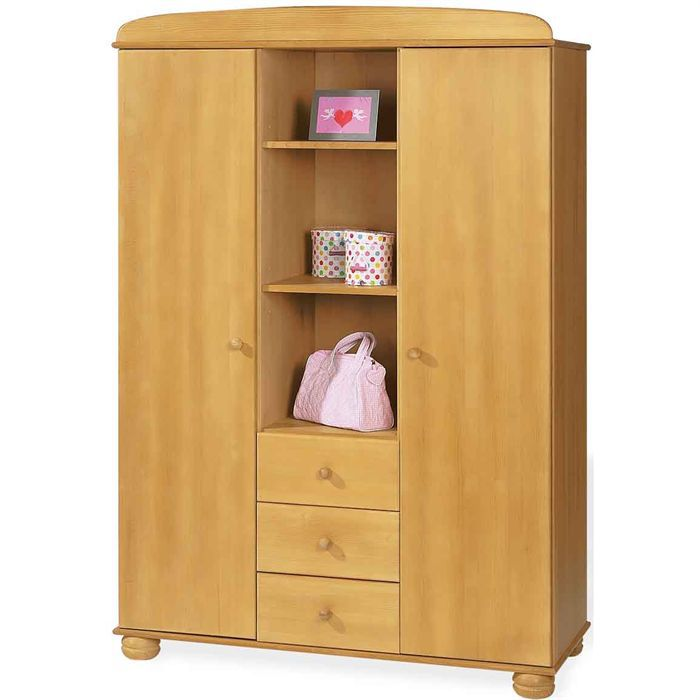 armoire enfant collection miel achat vente armoire 4035769019020 cdiscount. Black Bedroom Furniture Sets. Home Design Ideas