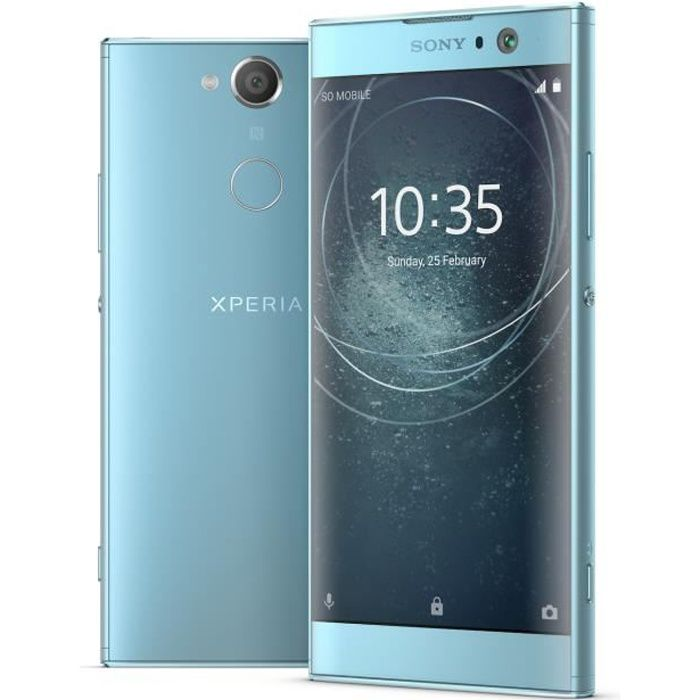 "SMARTPHONE Sony Xperia XA2, 13,2 cm (5.2""), 32 Go, 23 MP, And"