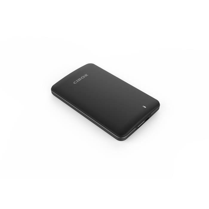 DISQUE DUR SSD EXTERNE CIBOX Disque SSD externe 256Go noir SSD00020