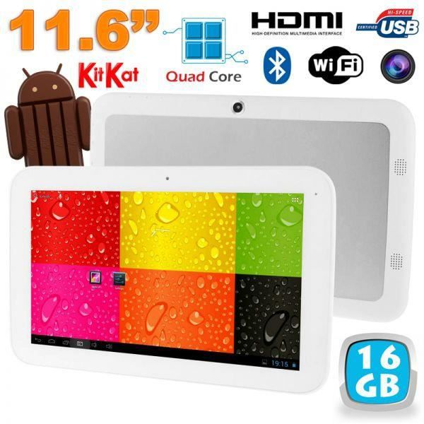 tablette tactile 12 pouces android 4 4 quad cor achat. Black Bedroom Furniture Sets. Home Design Ideas