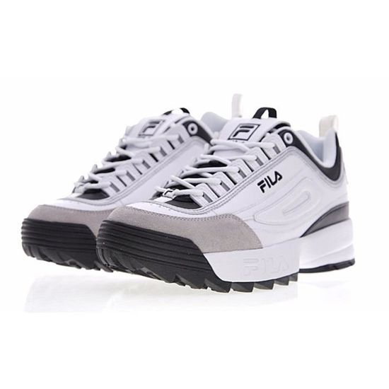 2 Ii Chaussures Fila Disruptor Femme Low Sneakers Blanc gUXPX