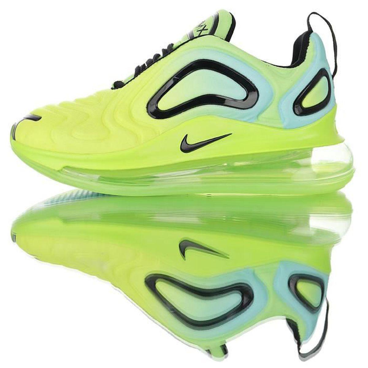 Nike Baskets Air Max 720 Chaussures de Course homme Vert Vert Vert ...