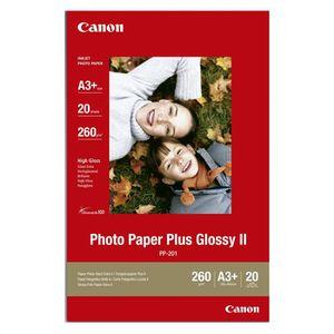 CARTOUCHE IMPRIMANTE CANON Pack de 1  Papier photo plus 260g/m2 - PP-20