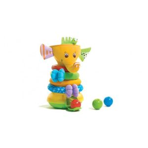 TINY LOVE Elephant Musical Stack & Ball