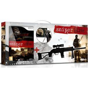 JEU WII SNIPER ELITE + SNIPER GUN BLACK / Jeu console Wii
