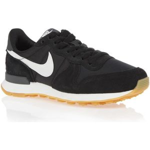 BASKET MULTISPORT NIKE Baskets WMNS INTERNATIONALIST - Femme - Noir