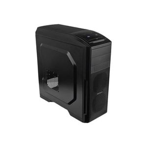 BOITIER PC  CASE MIDI ANTEC GAMER GX500 WINDOW BLUE - BLACK...