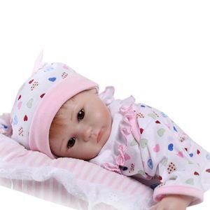 POUPÉE Lifelike Baby Doll 42cm Réincarné nouveau-né fille