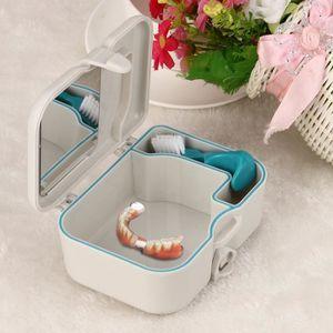 BROSSE A DENTS ZZP70616823 dentier dents Faux Boîte de rangement