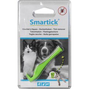 ANTIPARASITAIRE KERBL Pince pour tiques Smartick - Vert - Pour chi