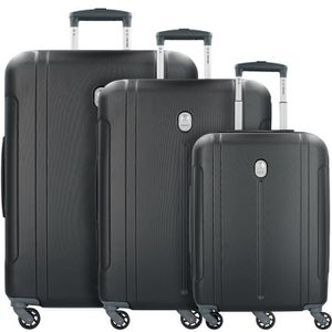 SET DE VALISES Delsey ABS-3446 Valises 4 roulettes set de 3pcs.