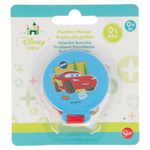 ACCESSOIRES SUCETTE  Attache Sucette Tututte Cars Disney Baby Bleu 0 %