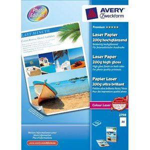PAPIER PHOTO Avery -100 Feuilles Papier Photo Laser brillant…