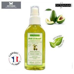 HYDRATANT CORPS huile d'avocat 100% pure,végétale corps,vergeture