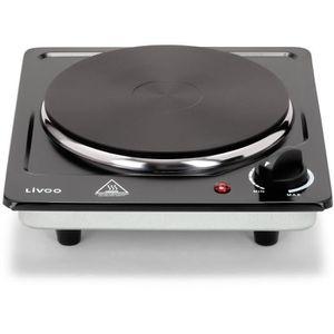 PLAQUE POSABLE Plaque de cuisson électrique Domoclip DOC167  Noir