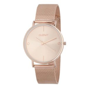MONTRE GLOOWY Montre Femme Quartz GWS18021 doré rose
