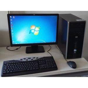 UNITÉ CENTRALE + ÉCRAN HP 6000 PRO MICROTOWER 22'' Windows 10