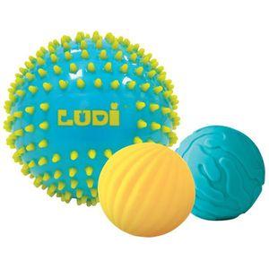 BALLE - BOULE - BALLON LUDI Balles Sensorielles Bleues