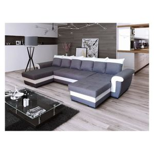 canape avec 2 meridienne achat vente canape avec 2 meridienne pas cher cdiscount. Black Bedroom Furniture Sets. Home Design Ideas
