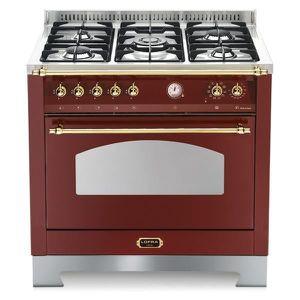PLAQUE MIXTE LOFRA RRG96MFT-CI rouge Bourgogne 90X60 AVEC cuisi