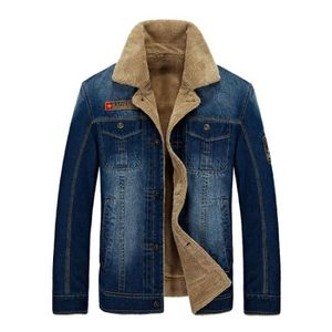 BLOUSON Blouson homme pardessus chaud en velours manteau d