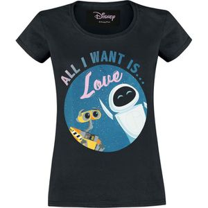 T-SHIRT Wall-E All I Want Is Love T-Shirt Manches courtes