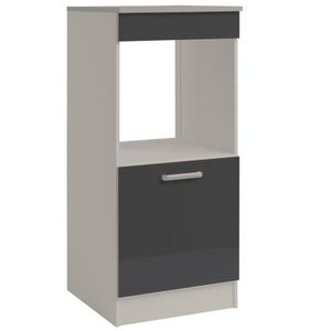 meuble colonne four achat vente meuble colonne four pas cher cdiscount. Black Bedroom Furniture Sets. Home Design Ideas