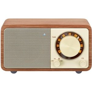 RADIO CD CASSETTE Radio FM / Bluetooth / Aux in / boîtier en bois SA
