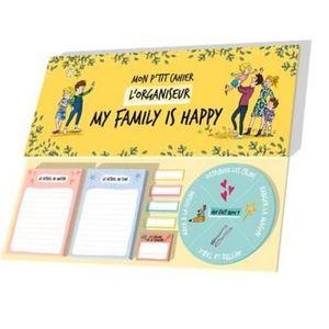 LIVRE BRICOLAGE Livre - organiseur ; mon p'tit cahier ; my family