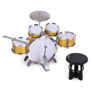 CYMBALE POUR BATTERIE Batterie Ensemble de tambour Jouet Instrument de m
