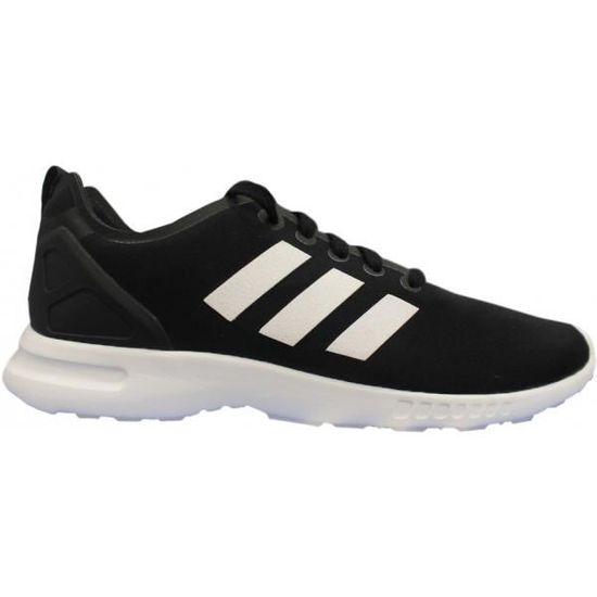 Adidas originals ZX FLUX SMOOTH FEMME NOIR Noir Noir - Achat / Vente basket