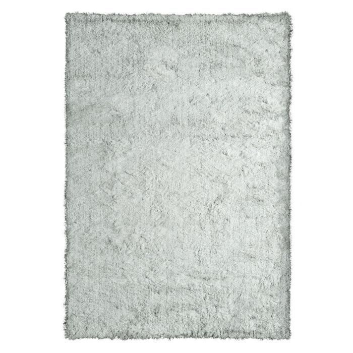 lucia tapis de salon shaggy haut de gamme 100 polyester ultra doux 80x150 cm gris achat. Black Bedroom Furniture Sets. Home Design Ideas