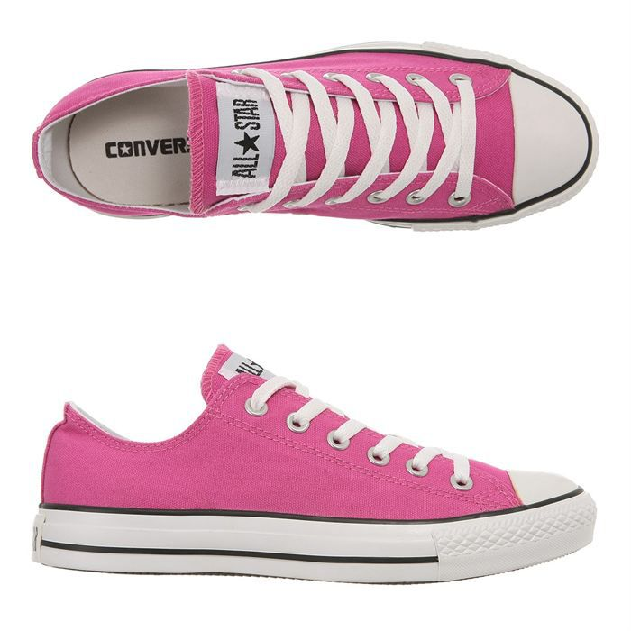 9bed6b1b717f4e CONVERSE Baskets All Star Ox Femme Rose - Achat   Vente basket ...