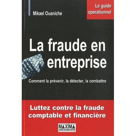 LIVRE GESTION La fraude en entreprise