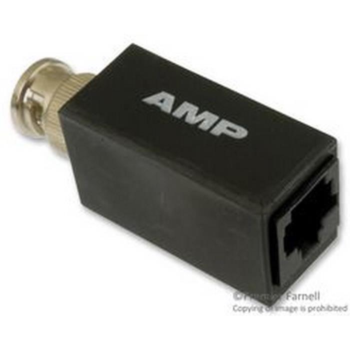 AMP TE CONNECTIVITY 555330-1 - Adaptateur Connecteur RJ45 vers BNC