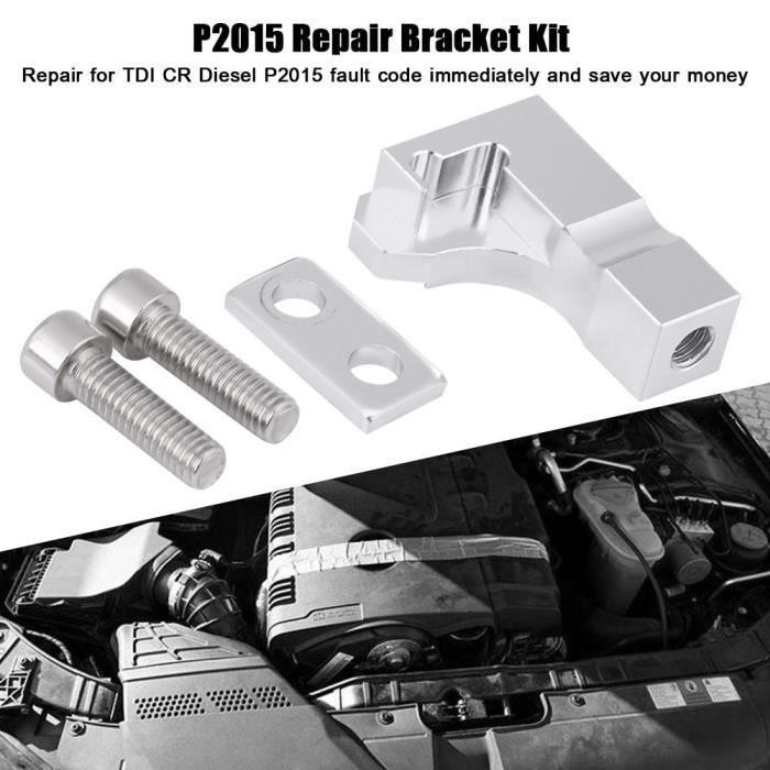 P2015 Kit de support de réparation pour Audi Skoda Seat 2.0 TDI CR Tubulure d'admission 03L129711E-TIM