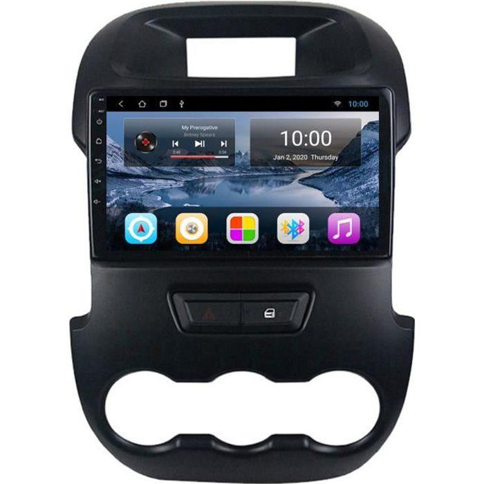 RoverOne Autoradio GPS Bluetooth pour Ford Ranger F250 2011 2012 2013 2014 Android Stéréo Navigation WiFi Écran Tactile