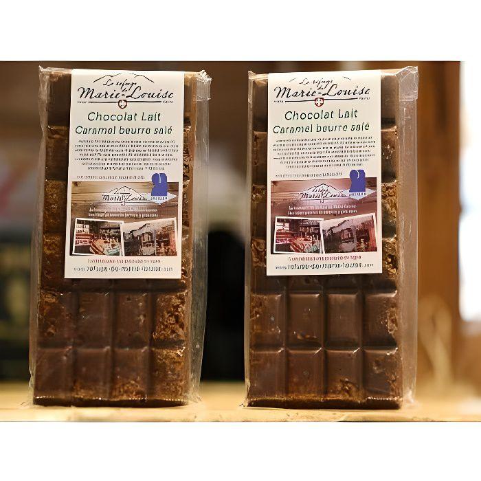 Chocolat de Savoie au lait caramel beurre sal&eacute