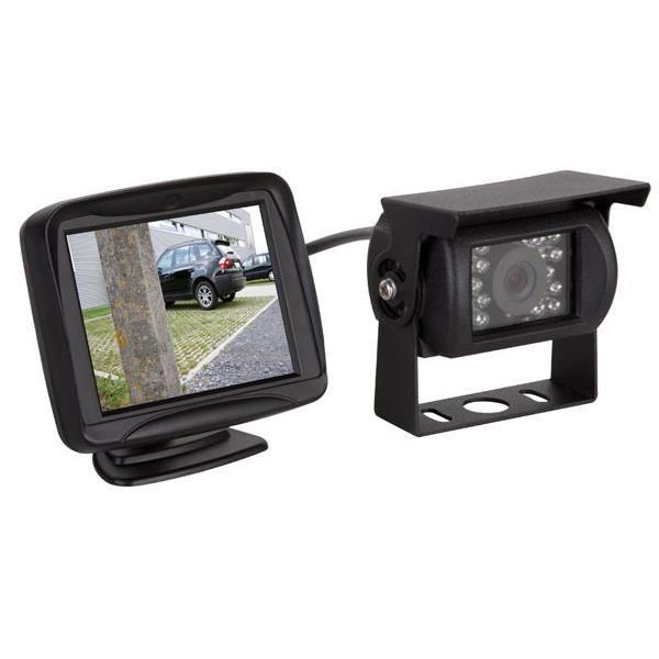 Caméra de recul avec ecran couleur camping car