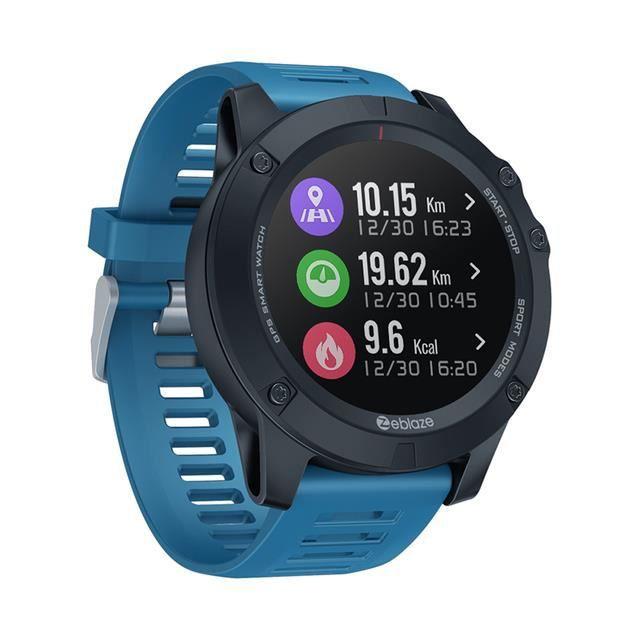 Extérieur Montre connectée de Sport en plein air, avec GPS, moniteur de fréquence cardiaque toute la journée, plusieurs Modes