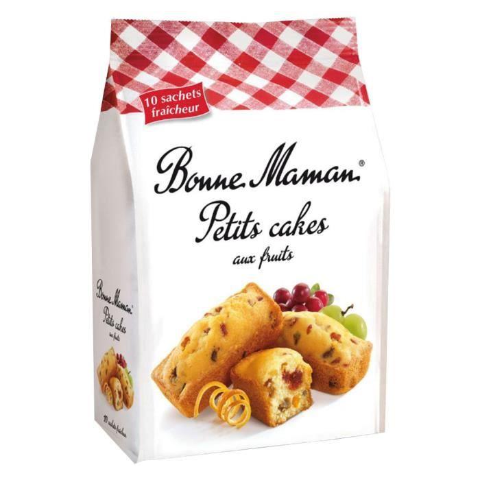 Bonne Maman Petits Cakes Fruits (lot de 10 x 3 paquets)