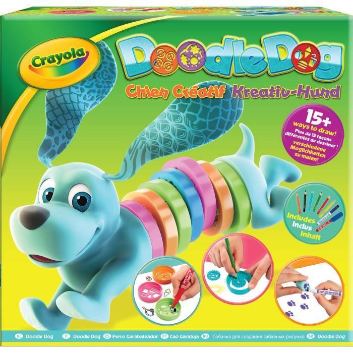 Crayola - Doodle Dog, Le Chien Créatif - Activités pour les enfants
