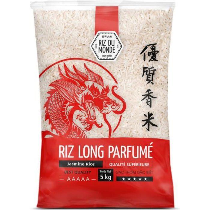 RIZ DU MONDE Riz long parfumé - 5 kg
